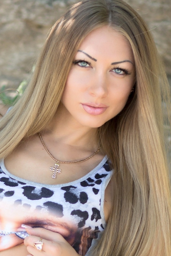 Ukrainian girl Ekaterina,28 years old with blue eyes and blonde hair.