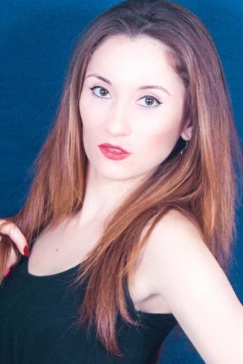 girl Yelizaveta, years old with  eyes and  hair.