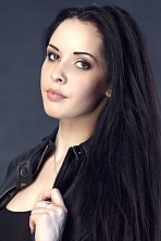 Ukrainian girl Diana,23 years old with brown eyes and black hair.