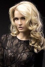 Ukrainian girl Alena ,26 years old with brown eyes and blonde hair.
