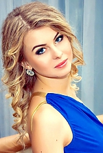 Ukrainian girl Valeria,23 years old with blue eyes and blonde hair.