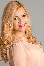 Ukrainian girl Alina,19 years old with brown eyes and blonde hair.