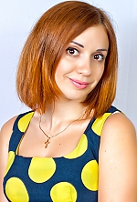 Ukrainian girl Viktoria,31 years old with hazel eyes and dark brown hair.