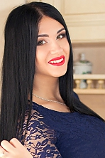 Ukrainian girl Ekaterina,26 years old with hazel eyes and black hair.