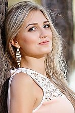 Ukrainian girl Anastasia,24 years old with brown eyes and blonde hair.