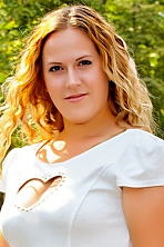 Ukrainian girl Elena,24 years old with hazel eyes and blonde hair.