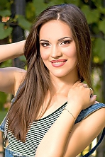 Ukrainian girl Nadezhda,24 years old with brown eyes and dark brown hair.