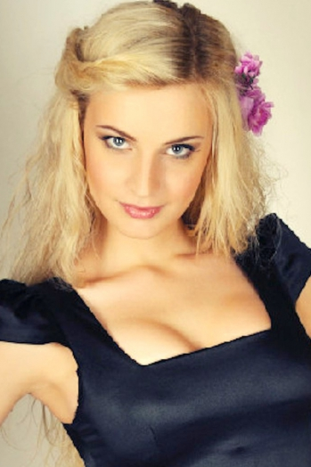 Ukrainian girl Katerina,24 years old with blue eyes and blonde hair.