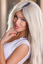 Ukrainian girl Alvina,27 years old with green eyes and blonde hair.
