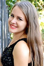 Ukrainian girl Alla,19 years old with blue eyes and light brown hair.