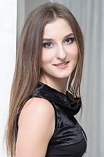 Ukrainian girl Vita,24 years old with green eyes and light brown hair.