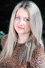 Ukrainian girl Tatyana,25 years old with grey eyes and blonde hair.