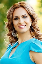 Ukrainian girl Zhanna ,29 years old with green eyes and blonde hair.