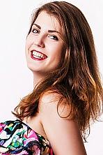Ukrainian girl Olga,22 years old with green eyes and light brown hair.