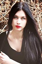 Ukrainian girl Jana,21 years old with blue eyes and black hair.