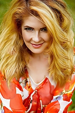Ukrainian girl Kristina,31 years old with blue eyes and blonde hair.
