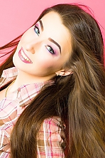 Ukrainian girl Katerina,22 years old with green eyes and light brown hair.
