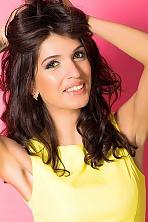 Ukrainian girl Regina ,29 years old with brown eyes and dark brown hair.