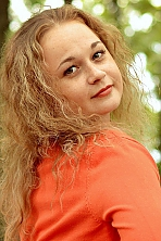 Ukrainian girl Anna,30 years old with brown eyes and blonde hair.