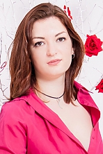 Ukrainian girl Dariya,28 years old with brown eyes and dark brown hair.