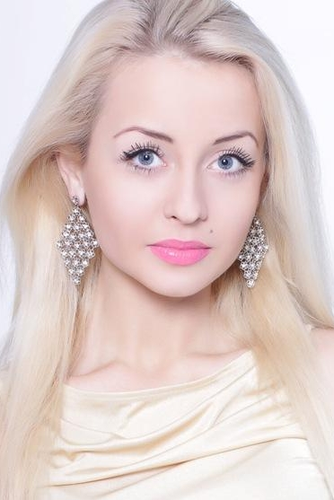 Ukrainian girl Alisa,30 years old with blue eyes and blonde hair.