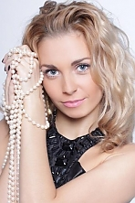 Ukrainian girl Tatyana,28 years old with blue eyes and blonde hair.