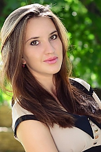 Ukrainian girl Valeryia,21 years old with brown eyes and blonde hair.