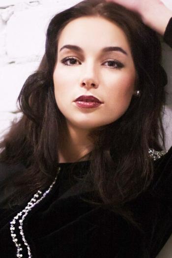 Ukrainian girl Dasha,21 years old with  eyes and  hair.