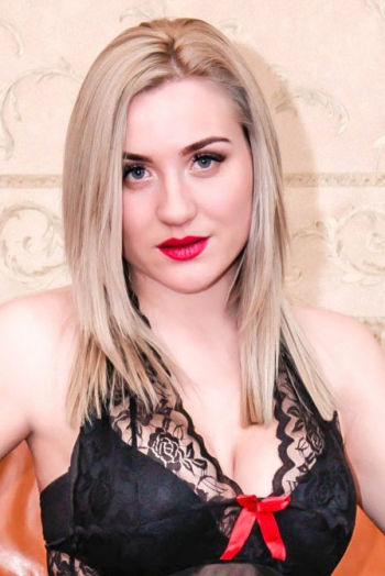 Ukrainian girl Alla,31 years old with blue eyes and blonde hair.
