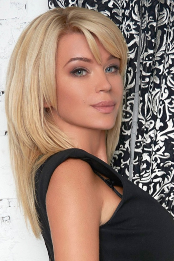 Ukrainian girl Marina,34 years old with blue eyes and blonde hair.
