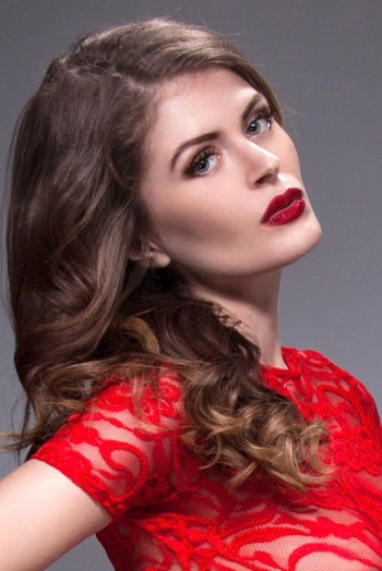 Ukrainian girl Karina,28 years old with green eyes and light brown hair.