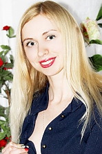 Ukrainian girl  Inna,30 years old with  eyes and  hair.