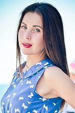 Ukrainian girl Julia,29 years old with green eyes and light brown hair.