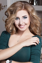 Ukrainian girl Anastasiya,21 years old with blue eyes and blonde hair.