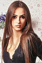 Ukrainian girl Anastasia,19 years old with hazel eyes and dark brown hair.