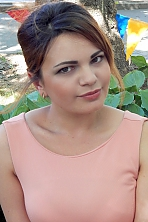 Ukrainian girl Liliya,25 years old with brown eyes and dark brown hair.