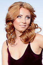 Ukrainian girl Julia,26 years old with blue eyes and light brown hair.