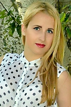 Ukrainian girl Viktoria,19 years old with blue eyes and blonde hair.