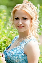 Ukrainian girl Anastasia,20 years old with hazel eyes and blonde hair.