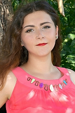 Ukrainian girl Yuliya,19 years old with brown eyes and light brown hair.