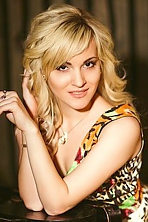 Ukrainian girl Elisaveta,22 years old with brown eyes and blonde hair.