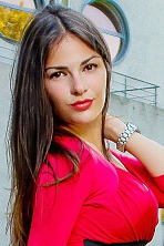 Ukrainian girl Ksenia,26 years old with brown eyes and dark brown hair.