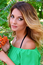 Ukrainian girl Ilona,25 years old with  eyes and  hair.