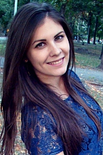 Ukrainian girl Vlada,22 years old with green eyes and light brown hair.