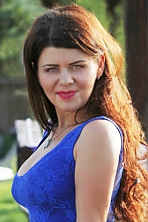 Ukrainian girl Tatiana,27 years old with green eyes and light brown hair.