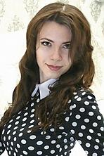 Ukrainian girl Ekaterina,31 years old with brown eyes and dark brown hair.