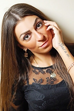 Ukrainian girl Tatyana,26 years old with brown eyes and dark brown hair.