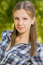 Ukrainian girl Olga,22 years old with blue eyes and light brown hair.