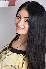 Ukrainian girl Marina,30 years old with brown eyes and black hair.