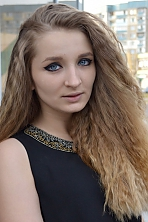 Ukrainian girl Natalia,22 years old with blue eyes and light brown hair.